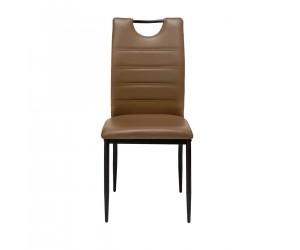 Καρέκλα τραπεζαρίας KORINA 46x41x92εκ. Taupe