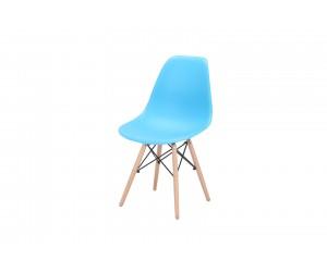 Καρέκλα τραπεζαρίας SALINA 54x46x80εκ. Γαλάζιο