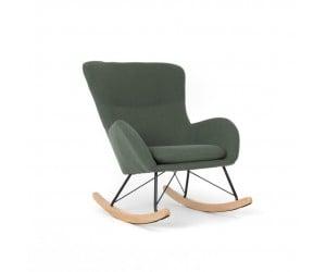 Πολυθρόνα καθιστικού relax AUGUSTA 95x77x106εκ. Πράσινο