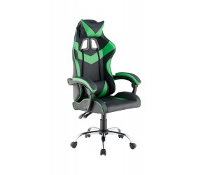 Πολυθρόνα γραφείου JILL 60X54X134εκ. Πράσινο